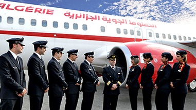 Profil et valeurs for Air algerie reservation vol interieur